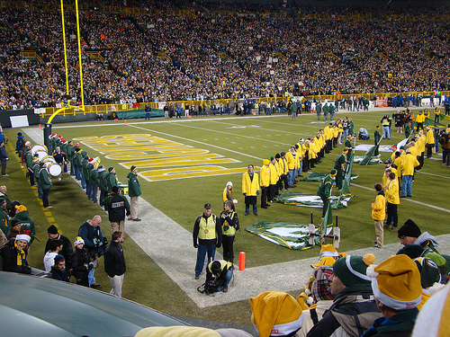 Packers - Bears Game
